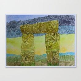 Rainmaker Door Canvas Print