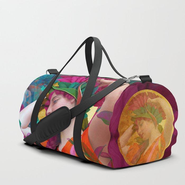 Pallas Athena Botanical Duffle Bag