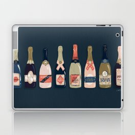 French Champagne Collection – Teal Laptop & iPad Skin