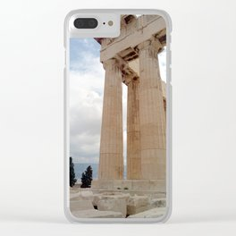 Acropolis/ history/ Athens/ Greece Clear iPhone Case