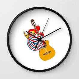Heroes Sloth Vintage Guitar Wall Clock