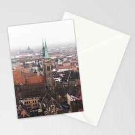 Snow in Nuremberg Stationery Cards