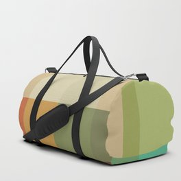 Retro Geometry Duffle Bag