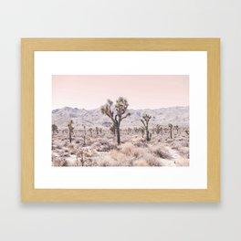 Joshua Tree Gerahmter Kunstdruck