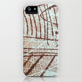 Walk the Lines iPhone Case
