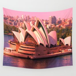 Australia Architectural Opera House Wall Tapestry