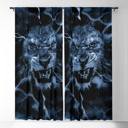 LIGHTNING GOD Blackout Curtain