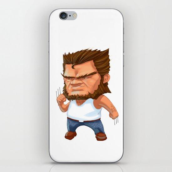 Mini Wolverine iPhone & iPod Skin
