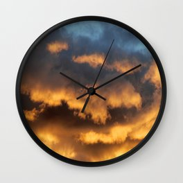 Sunset #196 Wall Clock