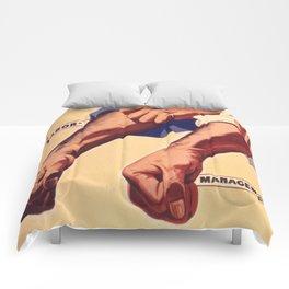 Vintage poster - Labor Management Comforters