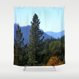 Changing of colors.... Shower Curtain