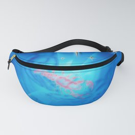 Moments - Full Moon - Zodiac sign Cancer Fanny Pack