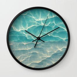 Crystal • Clear • Liquid Wall Clock