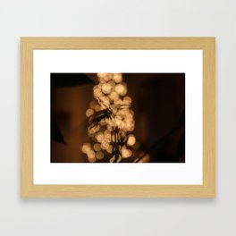 Christmas Silhouettes Framed Art Print