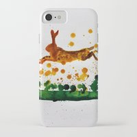 hare iPhone & iPod Cases featuring Hare by Condor