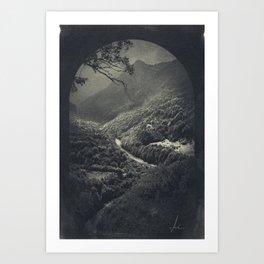 eerie landscapes 2 Art Print