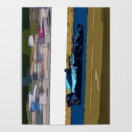 Formule 1 racing Poster