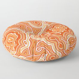 Red Agate Floor Pillow