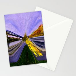 Abstracting Autumn Stationery Cards