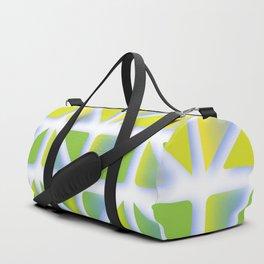 Geometric Forest Duffle Bag