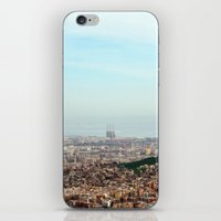 barcelona iPhone & iPod Skins featuring Barcelona by Julius Marc