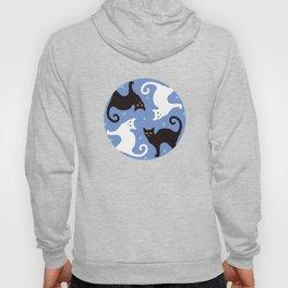 Cats Blue Hoody