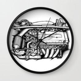 Engine Wall Clock