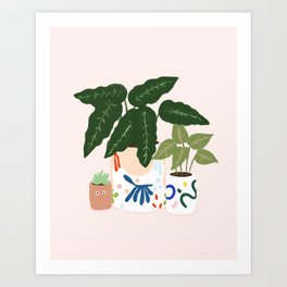 Potted Art Print