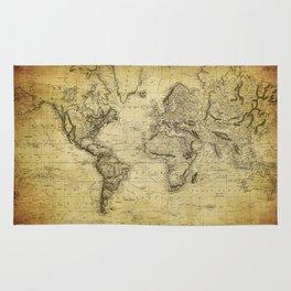 World Map 1814 Rug