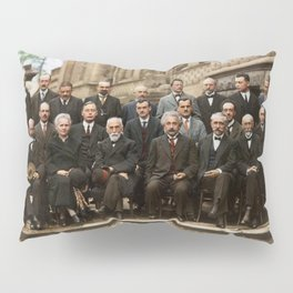 Solvay Conference Pillow Sham