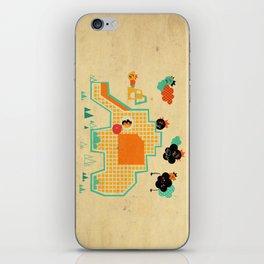 Elephant Playground iPhone Skin