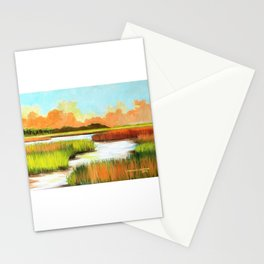 Low Country Marsh Stationery Cards