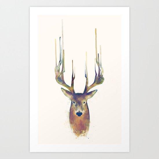 Deer // Steadfast Art Print