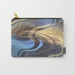 Zebra Pearl Carry-All Pouch