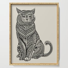 Polynesian British Shorthair cat Serving Tray