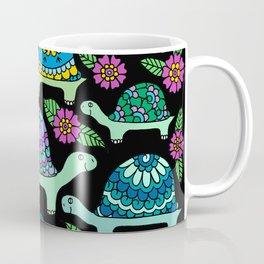 Tortoises Black Coffee Mug