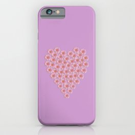 Heart of Gerberas iPhone Case