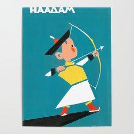 Naadam archery Poster
