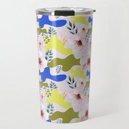 Floral Cameo Travel Mug