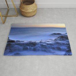 Blue seaside Rug