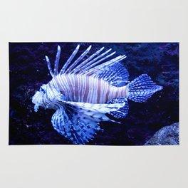 Sea World Lion Fish Rug