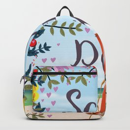Save the Date Deck chair and beach Backpack