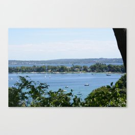 Harbor Springs Bay, View from Bluff (2) Canvas Print