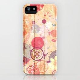 Unhappy Spring iPhone Case