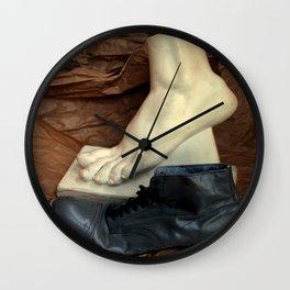 Crinkle Toes Wall Clock