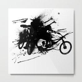 MTB Ink Metal Print