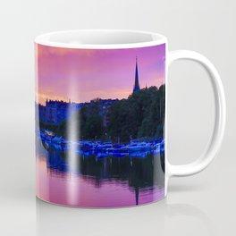 Dramatic sunset Stockholm Coffee Mug