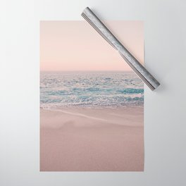ROSEGOLD BEACH MORNING LANDSCAPE Wrapping Paper