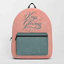 Keep Glowing Backpack