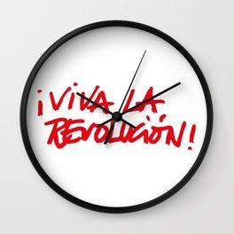 ¡Viva la Revolucion! Wall Clock